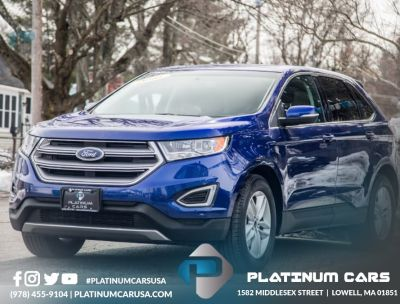 2015 Ford Edge 4dr SEL AWD (Blue)