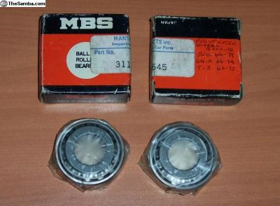 Front Outer Wheel Bearings Beetle Ghia Type 3