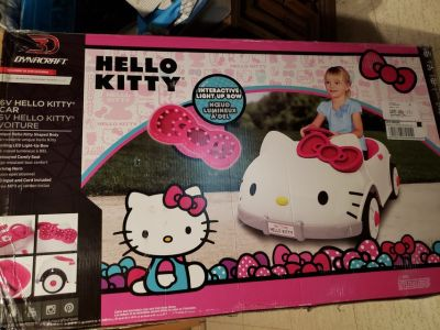 Hello Kitty Ride on-New in box