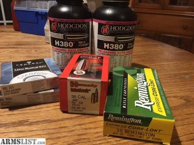 For Sale: Hodgdon H380 and 35 cal deal