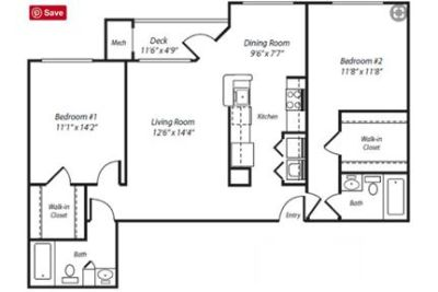 2 bedrooms Apartment - Welcome to Ellington Metro West. Pet OK!