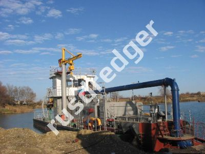 Dredger 2800 by URAL GYDROMECHANICAL PLANT, CJSC