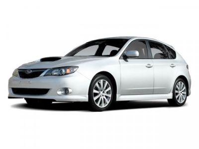 2008 Subaru Impreza WRX Base (Satin White Pearl)