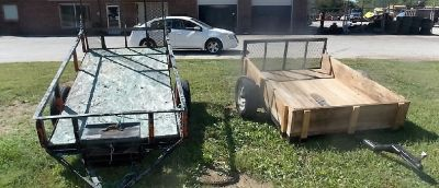 Drop Gate Trailers Sharp Trailers For Work!