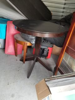 Highball Table dark brown