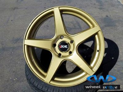 Find 18'' New XXR 535 Wheels Gold Finish 5X100 5X114 17 18 19 Rims motorcycle in Escondido, California, US, for US $699.00