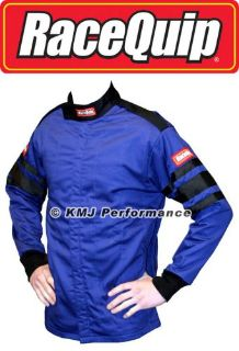 Find RaceQuip 111025 Large Blue Racing Driving Jacket Series 111 Two Piece Suit motorcycle in Story City, Iowa, United States, for US $59.95