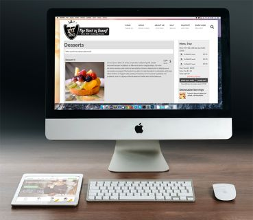 Managed Restaurant Web Hosting with Free Web Design/Redesign