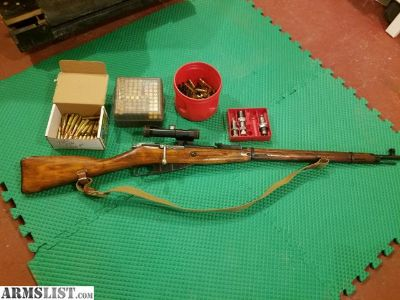 For Sale/Trade: reduced price mosin nagant sniper