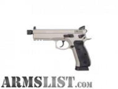 For Sale: CZ 75 SP-01 Tactical Urban Grey Suppressor-Ready 9MM 91253