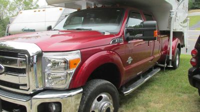 2014 Ford Red 1 ton Dually