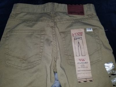 Boy's VANS Khakis/Jeans size 10 - new with tags