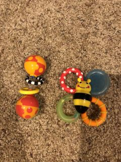 Battle rattle and teether