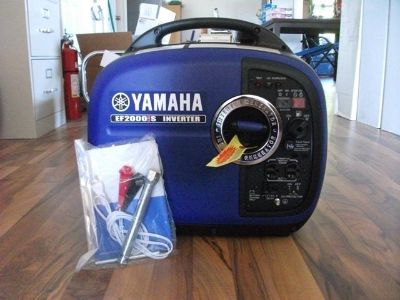 Find NEW YAMAHA EF2000IS PORTABLE PARALLEL INVERTER GENERATOR 2000 WATT motorcycle in Moline, Illinois, US, for US $949.00