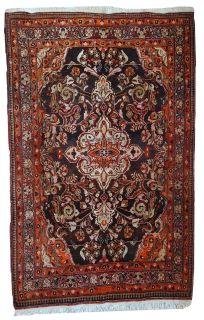 Handmade vintage Persian Tabriz rug, 1C423