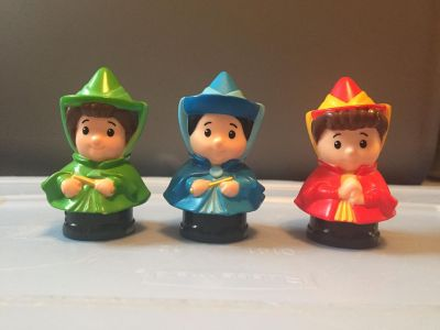 Fisher Price Little People - Flora, Fauna, and Merryweather set