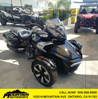 2016 Can-Am Spyder F3-T SE6 w/ Audio System 3 Wheel Motorcycle Ontario, CA