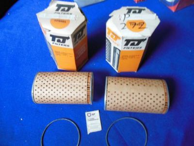 Find NORS TJ Tecalemet Air Filters (2) Jaguar XKE XKE Series III V12 FP9645 motorcycle in North Haven, Connecticut, United States