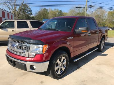 2013 Ford F-150 King Ranch (Red)