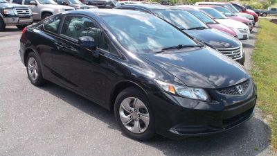 2013 Honda Civic LX (BLK)