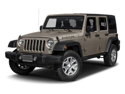 2016 Jeep Wrangler Unlimited Rubicon (Black Clearcoat)