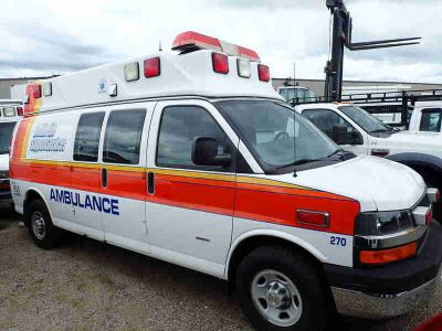 2009 Chevrolet Express Ambulance