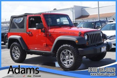 2013 Jeep Wrangler Rubicon (Red)