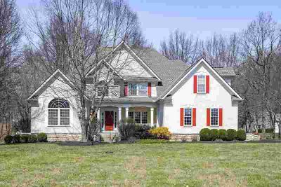 6981 Lewis Center Road Galena Five BR, FIVE partially wooded