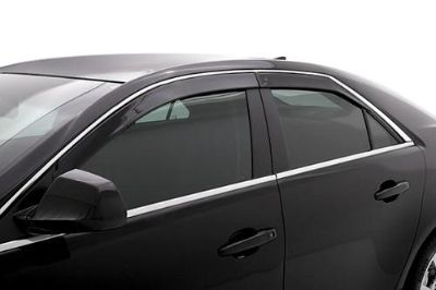 Sell AVS 894025 09-13 Cadillac CTS Left, Right Window Covers Smoke Seamless Ventvisor motorcycle in Birmingham, Alabama, US, for US $92.00