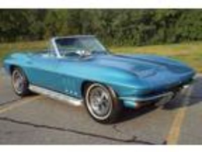1965 Chevrolet Corvette Stingray Convertible Blue