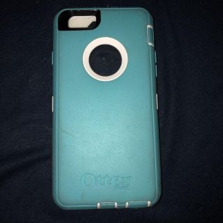Teal and White IPhone 6 Otter Box