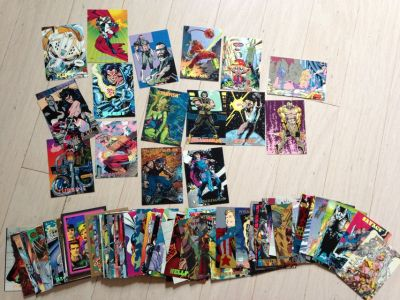 Comic Trading Cards