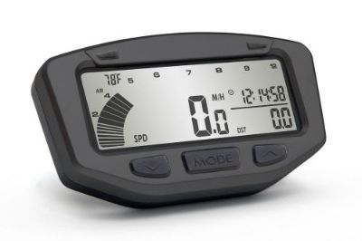 Sell Trail Tech Vapor Tach Tachometer Yamaha YFZ450 Stealth Black 2004-2013 motorcycle in Troy, Ohio, United States, for US $116.96