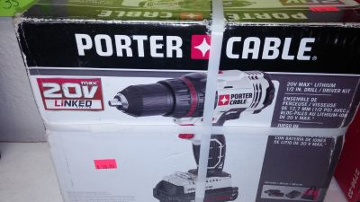 Porter Cable Lithium Drill/Driver set