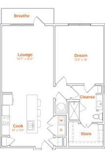 Apartment in quiet area, spacious with big kitchen. Offstreet parking!