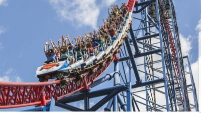 Sixflags day passes with free parking