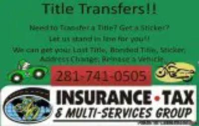 TITLE TRANSFERS