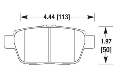 Find HAWK HB679Z.600 - 09-12 Acura TL Rear Brake Pads Ceramic motorcycle in Chino, California, US, for US $68.20