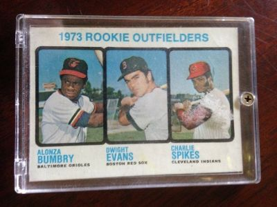 1973 Topps Dwight Evans Rookie card.
