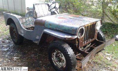 For Sale/Trade: 1952 Willys CJ-3A Jeep