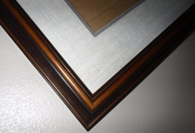"""LARGE Wood Picture Frame 43 x 31"""""""