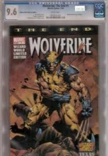 Wolverine (CGC) Professionally Graded Comics (Valley)