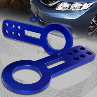 Buy JDM Blue Front Anodized Billet Aluminum Racing Towing Hook Tow Kit Universal 4 motorcycle in Walnut, California, United States