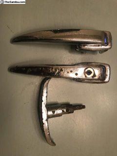 Original door handles / rear hatch handle