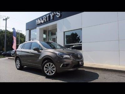 2017 Buick Envision Essence (brown)