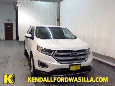 2018 Ford Edge SEL AWD (WHITE PLATINUM MET TRI-CO)