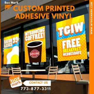 custom self adhesive vinyl stickers