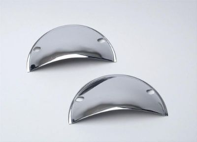 Buy MR GASKET CHROME HEADLIGHT HALF SHIELDS COVERS 5-3/4 #9650 motorcycle in Schererville, Indiana, United States, for US $12.99