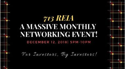 713 REIA A MASSIVE MONTHLY NETWORKING EVENT!