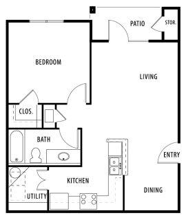 1 bedroom in Floresville